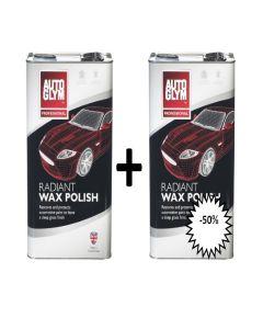 Radiant Wax : 2de aan halve prijs