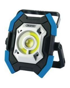 Lampe rechargable, 10-5W/1000 Lumen, COB Led, bleu